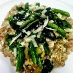 Farro Risotto with Broccoli Rabe