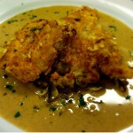 Veal with Mushroom Cream Sauce