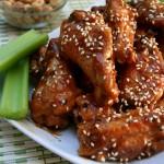 Baked Thai Peanut Wings