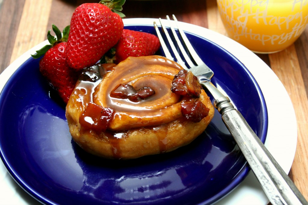 Bacon Sticky Buns