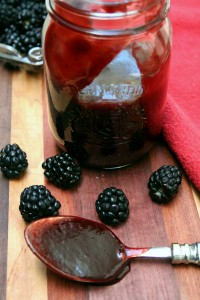 Chipotle Blackberry BBQ Sauce