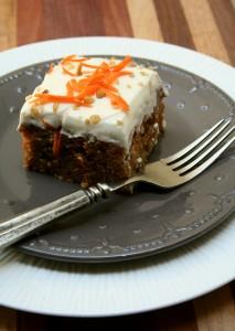 Pineapple Rum Carrot Cake