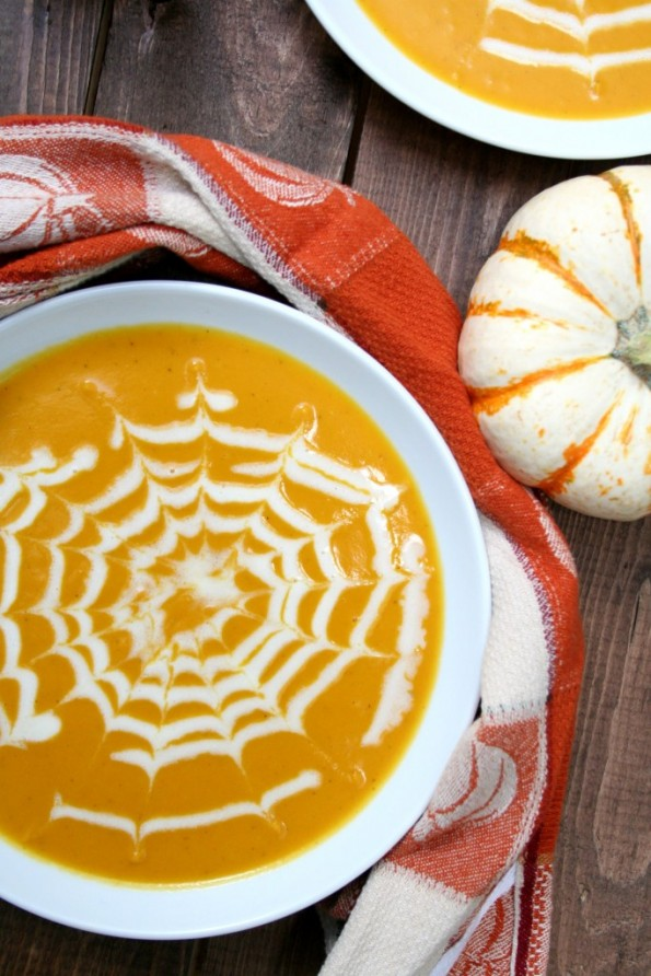 Spiced Carrot and Butternut Squash Soup