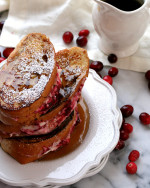 Cranberry Stuffed French Toast